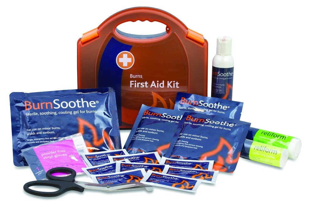 Out of the frying pan into the first aid situation for First aid kits for restaurant kitchens